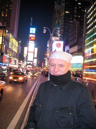 Peter Stigter in New York